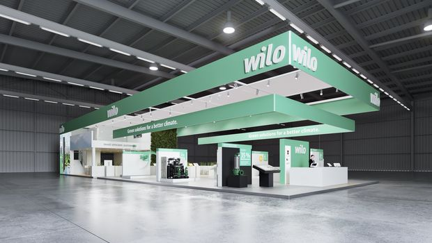 "Den virtuelle Messestand ""Green Solutions for a better Climate"" der Wilo Gruppe"